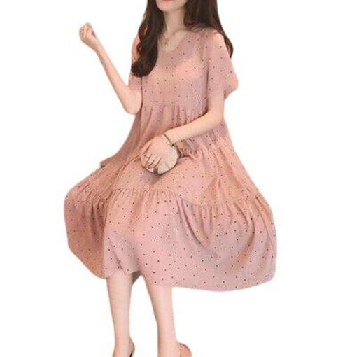 robe longue maternite