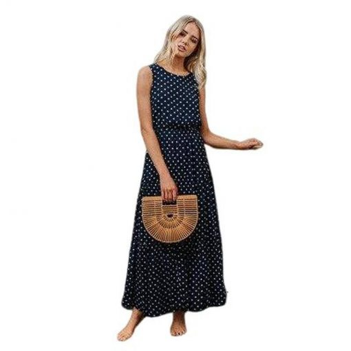 tenue robe longue ete