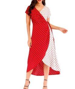 robe asymetrique longue