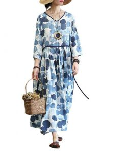 robe boheme automne