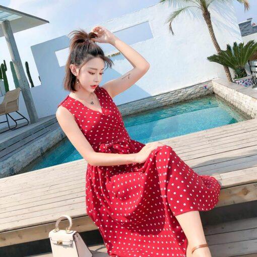 Robe à Pois##Robe à Pois femmes style - coccinelle-paradis