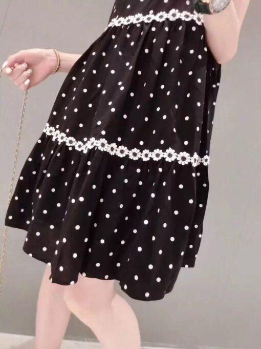Robe à Pois##Robe à Pois Femme Enceinte ligne Maman - coccinelle-paradis