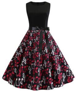 robe rétro grande taille