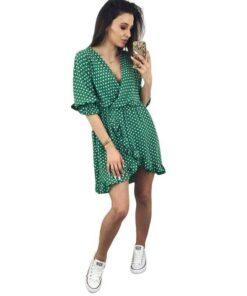 robe courte femme ronde