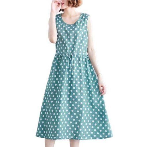 robe longue lin