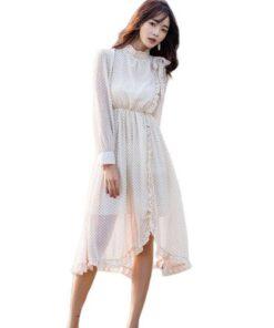robe longue mousseline