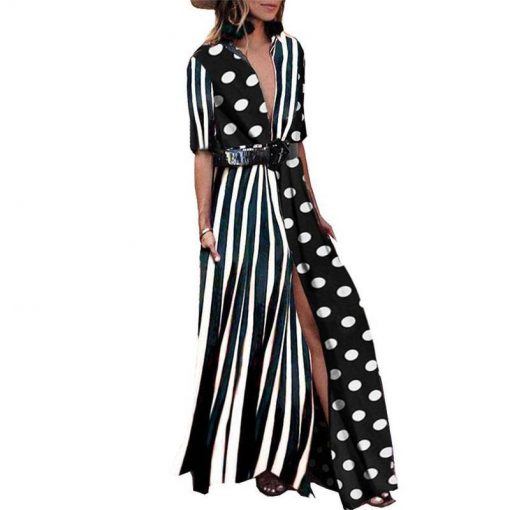 robe bustier grande taille longue