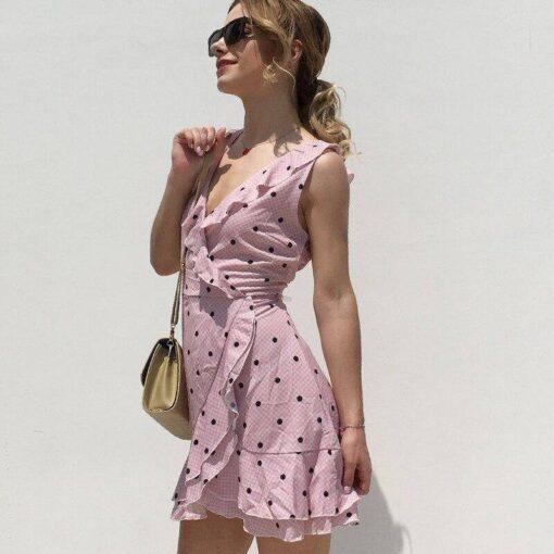 robe bustier courte femme