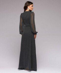 longue robe de soiree bustier