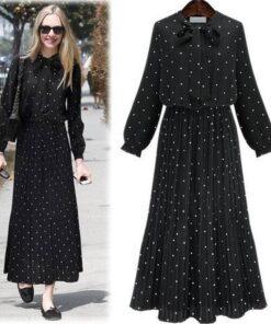 jupes longues noires grande taille