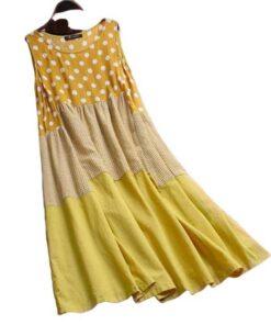 robe coton longue