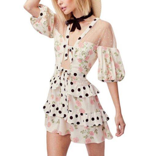 robe imprime boheme