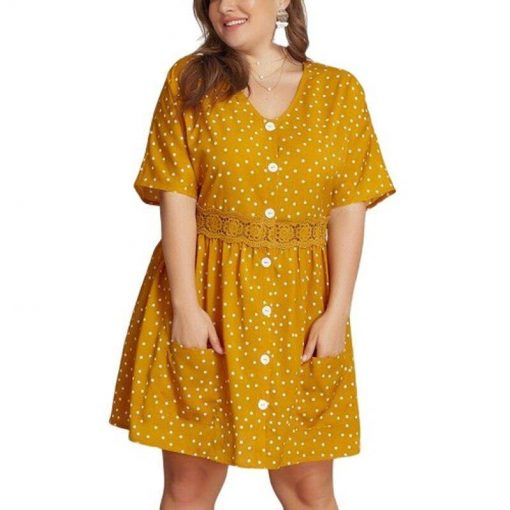 robes courtes grande taille