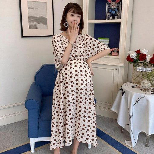 robe de grossesse a pois