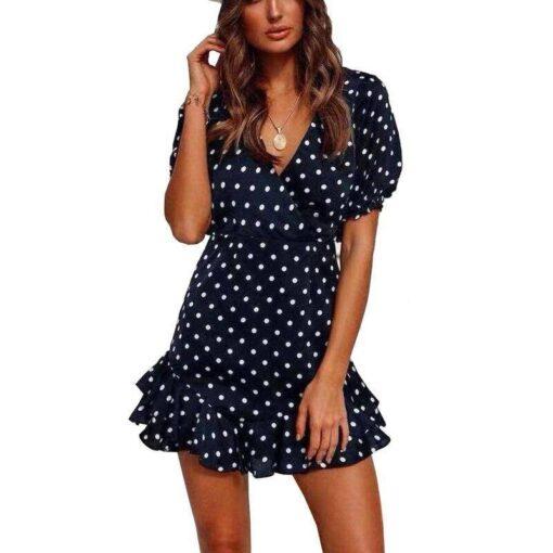 robe de soiree courte foulard