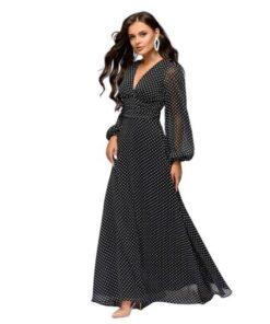 robe longue elegante