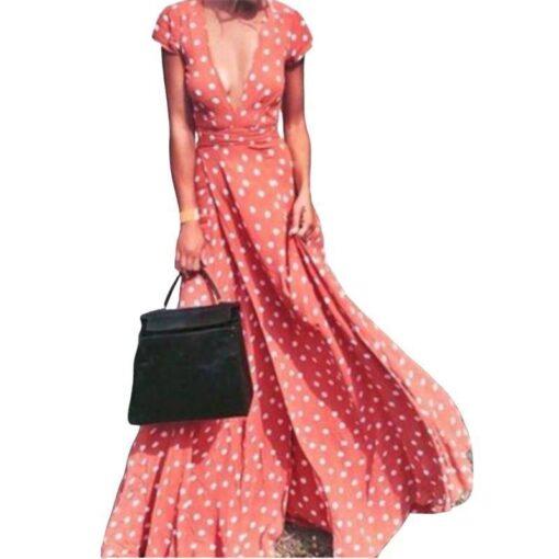 robe longue plage bustier