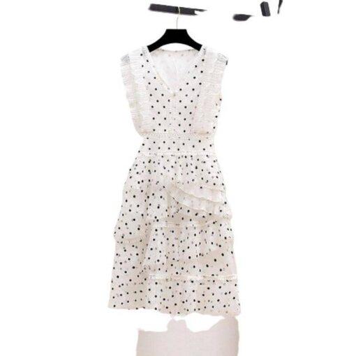 robe dentelle courte