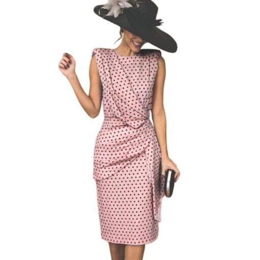 robe rose poudre grande taille