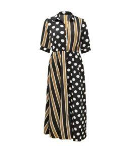 robe en laine longue