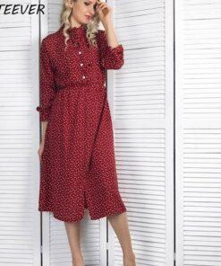 robe manche longue femme