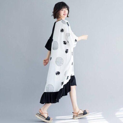 robe debardeur longue grande taille