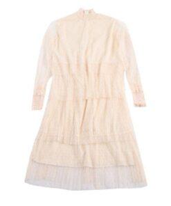 robe mouchoir de tulle
