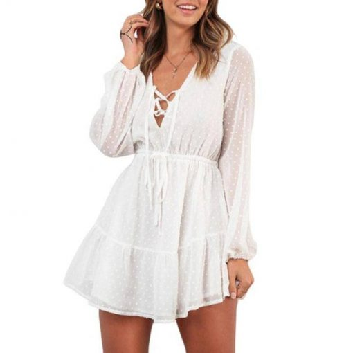 robe blanche mousseline