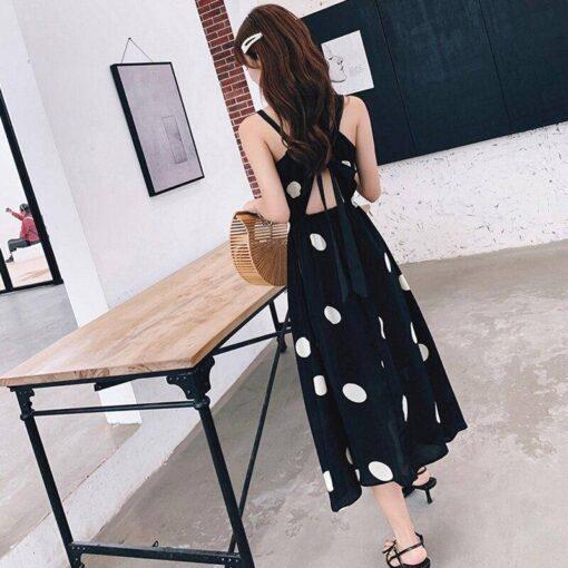 robe noir longue paillette