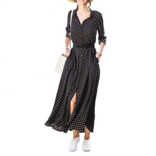 robe mousseline de soie mi longue