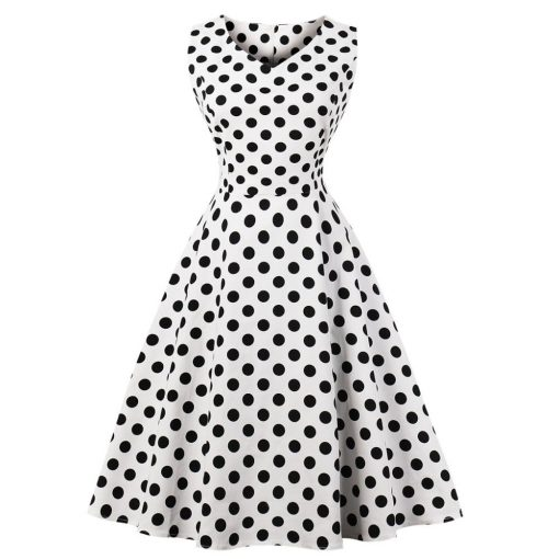 robe blanche a pois basket blanche