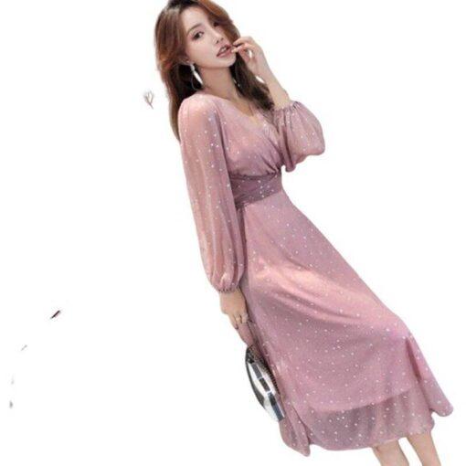robe en satin de soie