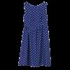 robe cocktail bleu roi courte