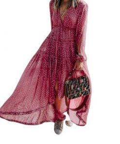 robe boheme asymetrique