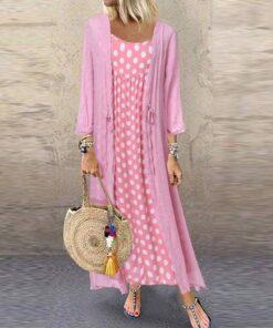 robe faux ensemble grande taille