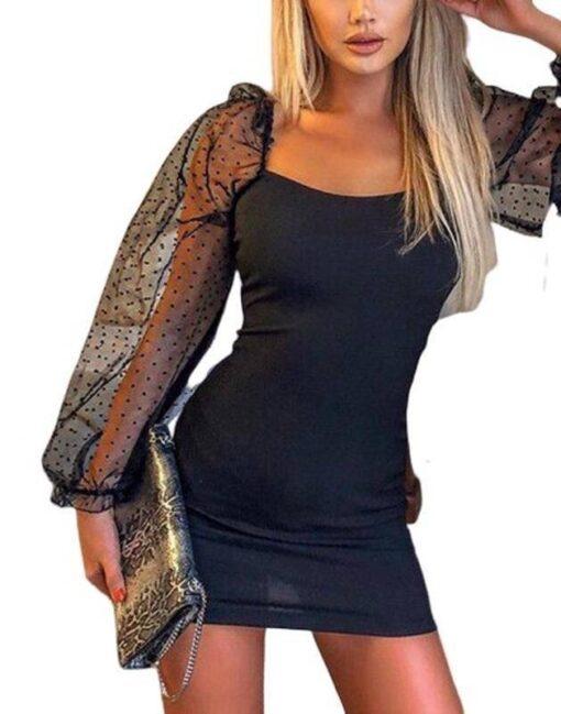 jupe noir moulante