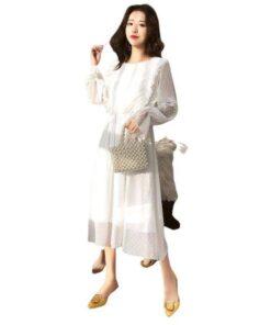 robe longue taille elastique