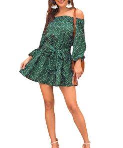 tapis vintage vert