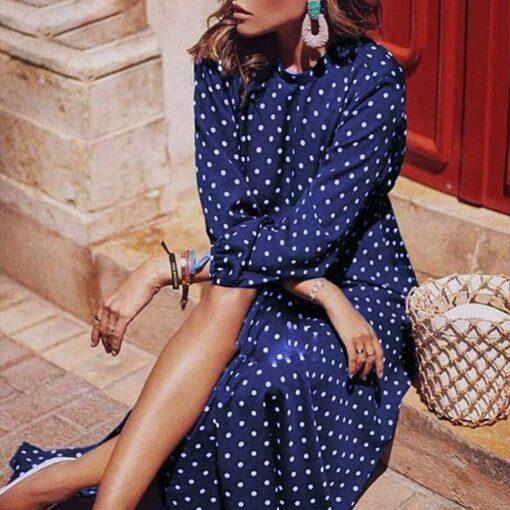 Robe à Pois##Robe à Pois Grand Haute Sexy Féminité - coccinelle-paradis