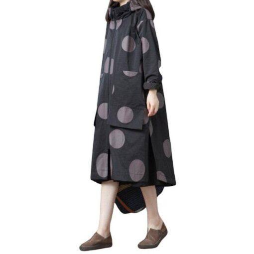 tunique longue femme coton