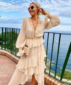 robe blanche longue soie