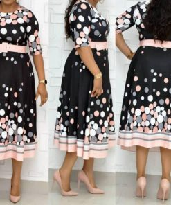 robe africaine wax grande taille