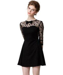 robes longues noires ete