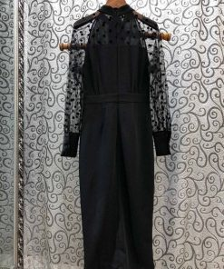 robe moulante noir ado
