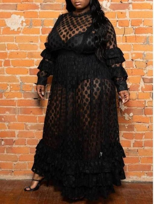 robe champetre grande taille
