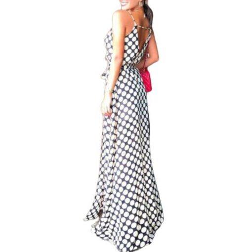 robe longue dos nu boheme