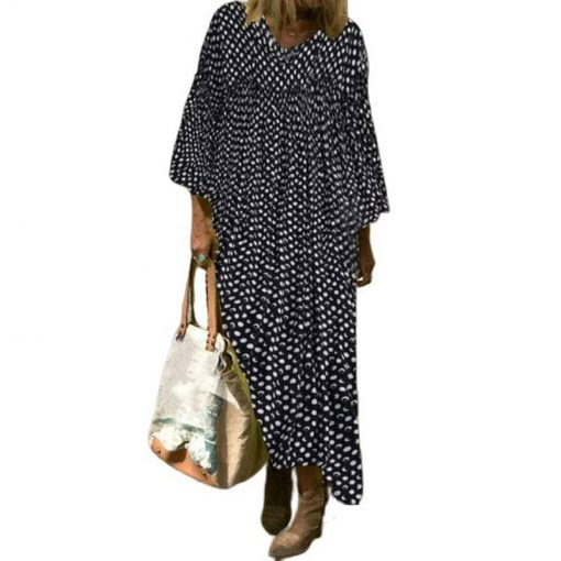 boheme vintage robe hippie
