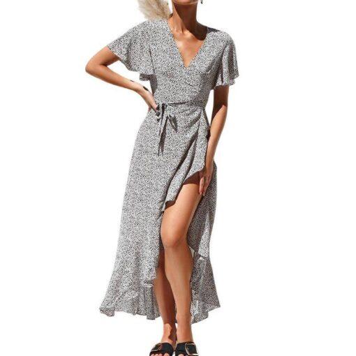 boheme robe longue