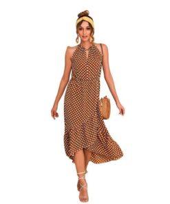 robe longue soiree femme
