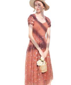 robe mousseline longue